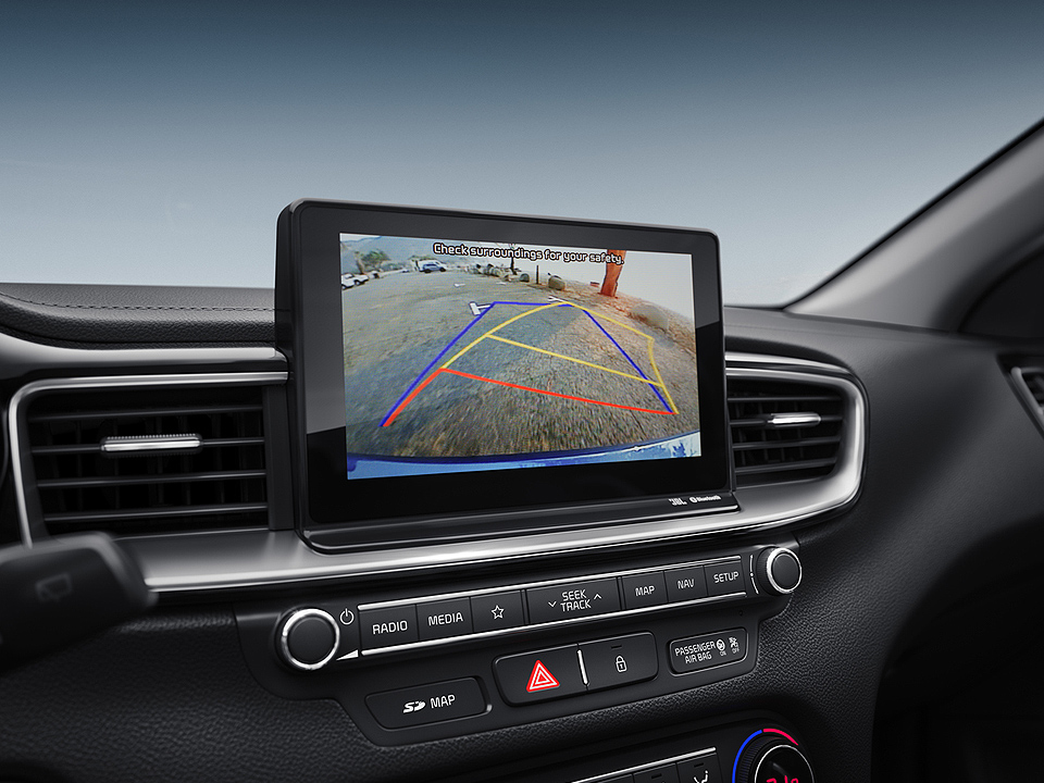 "Navigație 8.0"" + Sistem infotainment cu Apple Car Play și Android Auto"