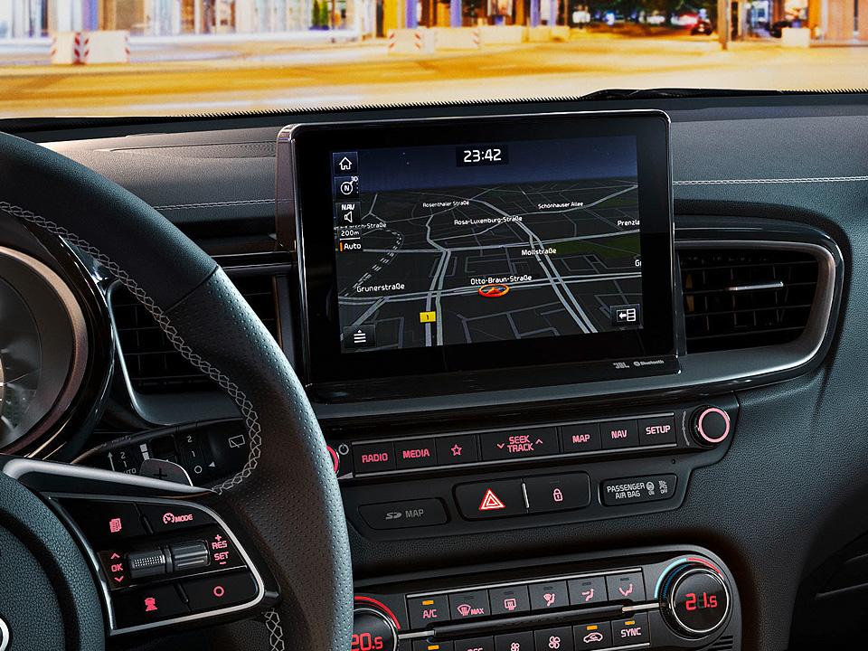 """Navigație 8.0"""" + Sistem infotainment + Apple Car Play și Android Auto"""